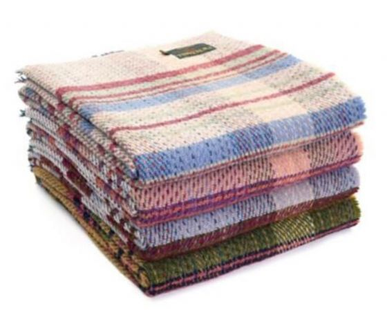 Recycled Wool Blankets / Throws / Rugs